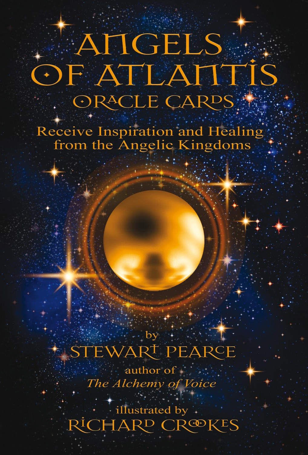 ANGELS OF ATLANTIS ORACLE CARDS by Stewart Pearce - DIANA THE VOICE OF CHANGE