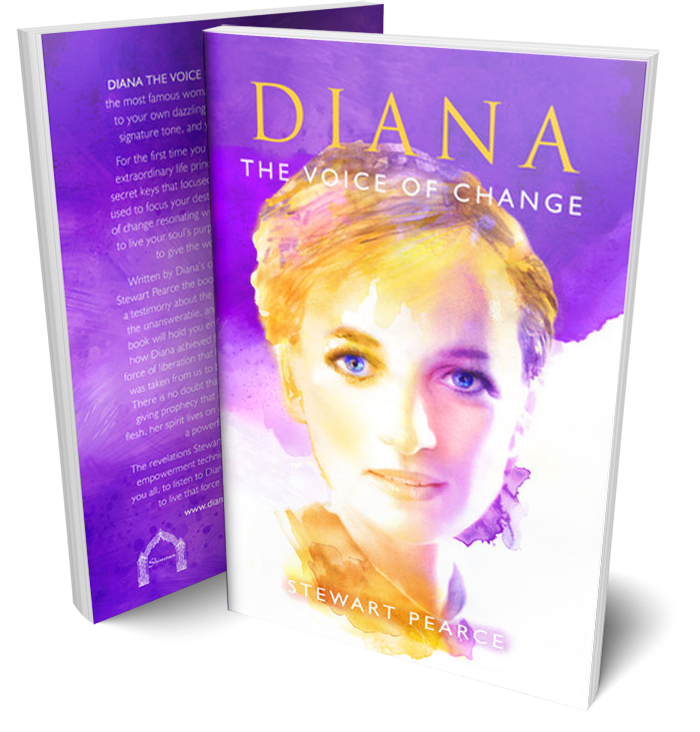 Diana The Voice of Change Book by Stewart Pearce