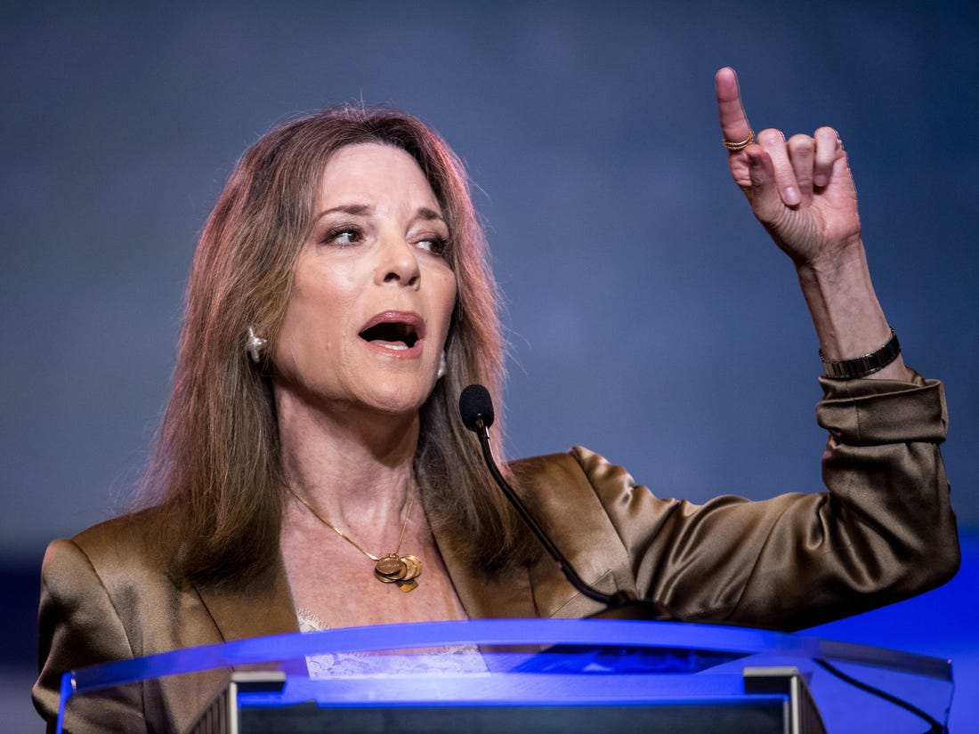 MARIANNE WILLIAMSON – THE VOICE OF LOVE is THE VOICE OF CHANGE Part One